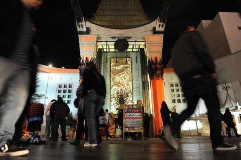 Imax plans for Chinese Theatre get support from conservation group