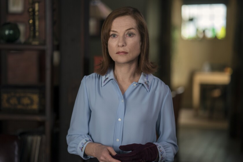 """This image released by Focus Features shows Isabelle Huppert in a scene from """"Greta."""" (Patrick Redmo"""