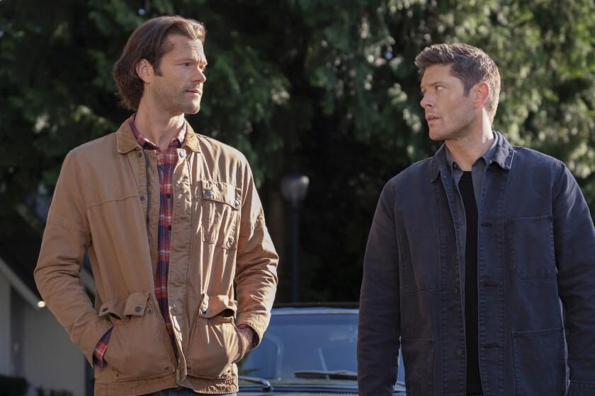"""Jared Padalecki and Jensen Ackles in """"Supernatural"""""""