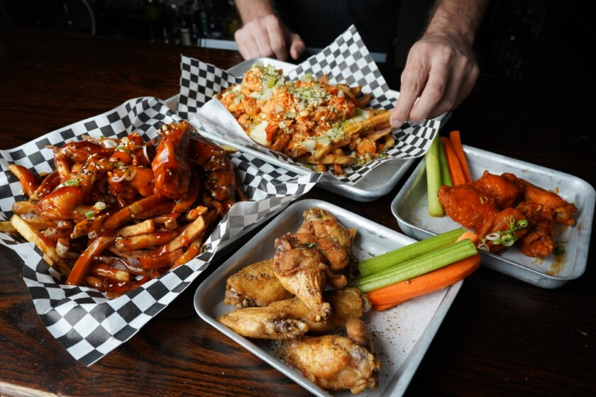 The Greyhound Bar & Grill wings