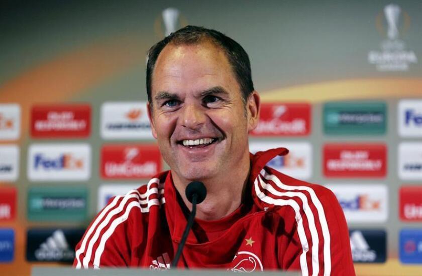 En la imagen, el entrenador del Atlanta United, de la MLS, el holandés Frank de Boer. EFE/Archivo