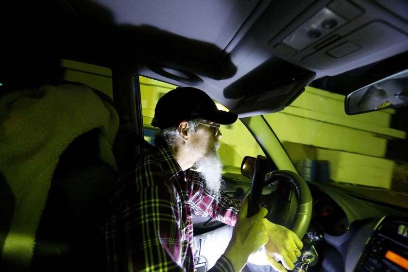 Jimmy Evans patrols neighborhoods