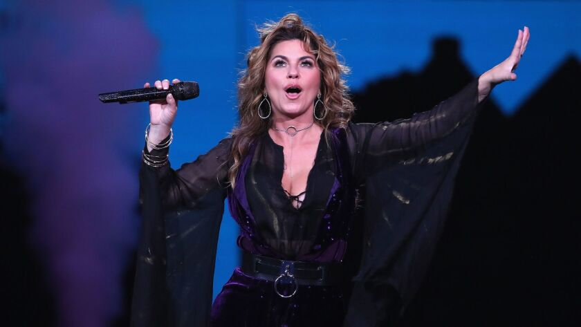 Shania Twain performs in August in New York.
