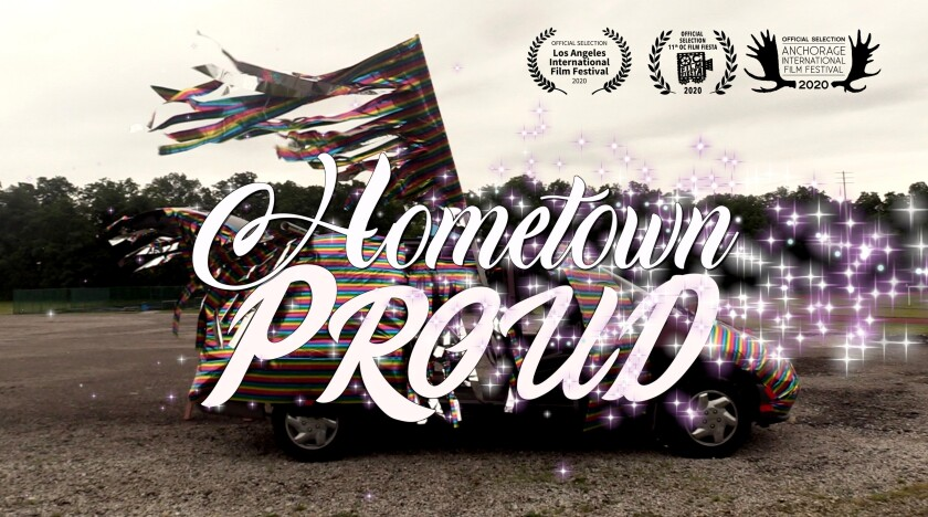 "Poster art for ""Hometown Proud,"""