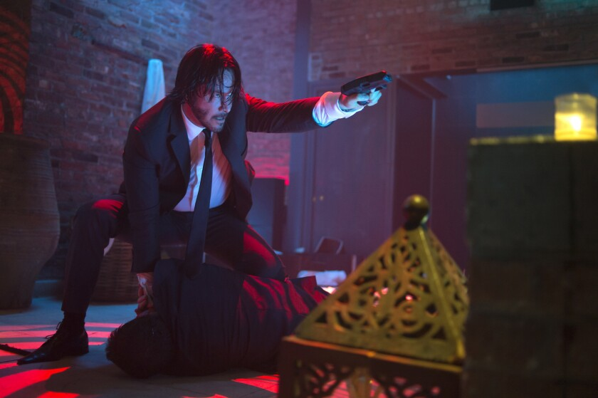 Keanu Reeves in 'John Wick'