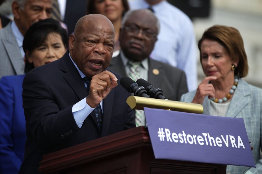 House Democrats Commemorate 50th Anniversary Of Voting Rights Act