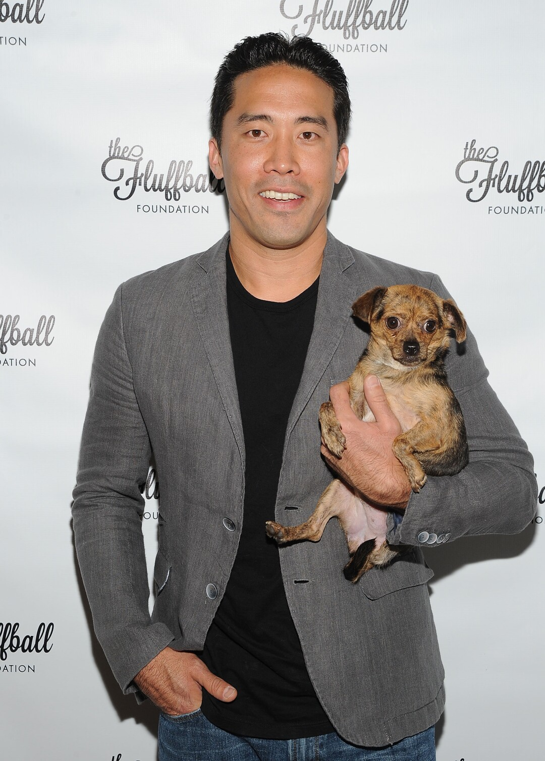 Marc Ching at a 2015 fundraiser event