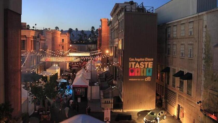 Opening night of The Taste in 2014.