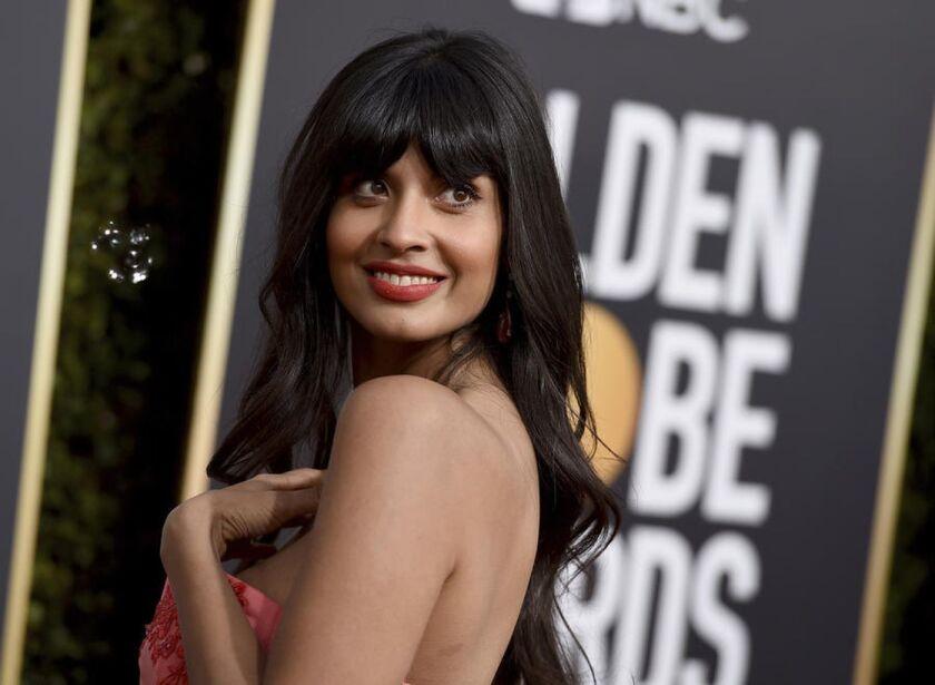Jameela Jamil at the 76th Golden Globe Awards.