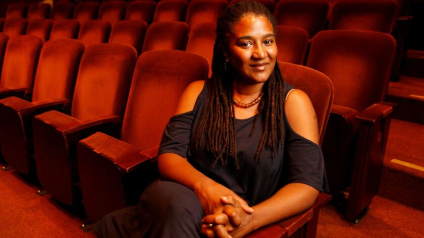 Pulitzer Prize-winning playwright Lynn Nottage at the Geffen Playhouse in 2012.