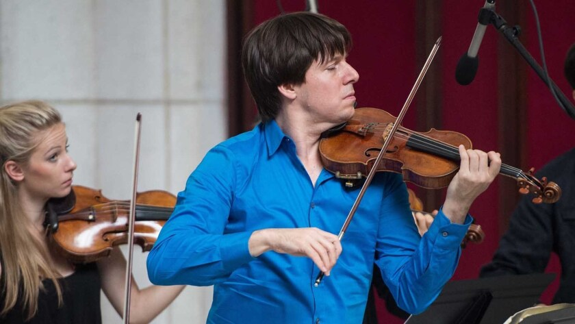 """Joshua Bell: A YoungArts Masterclass"" on HBO."