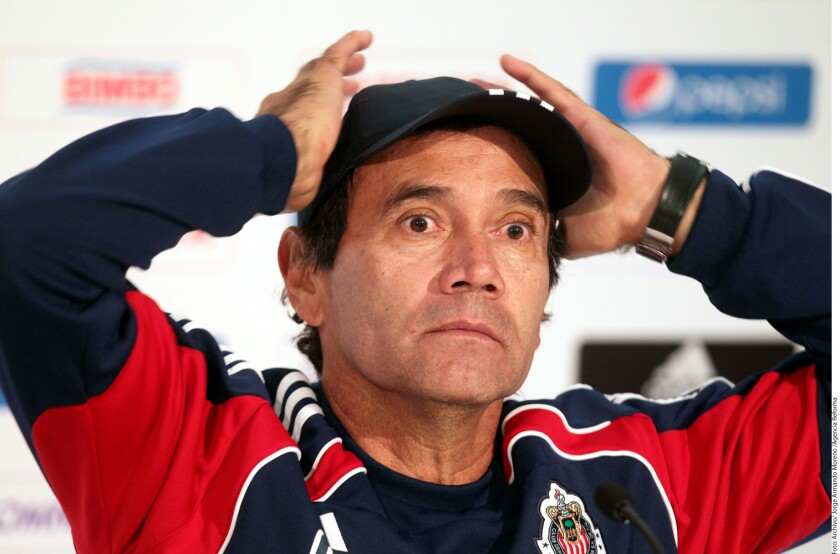 Fernando Quirarte, exentrenador de Chivas.