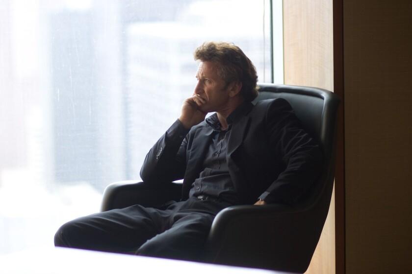 El actor Sean Penn en una imagen de archivo.