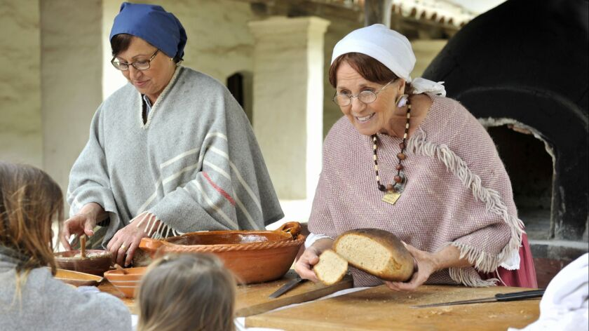 Watch a 1800s-style breadmaking demonstration at Harvest Mission Life Day, held next Saturday, Septe