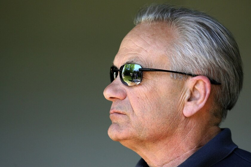 Trainer Jerry Hollendorfer won't be allowed to race his horses at Santa Anita this meeting