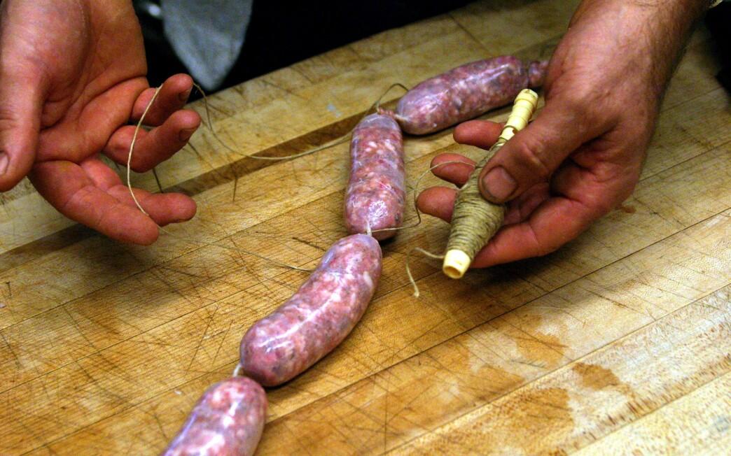 Lucanica (fresh Italian sausage)