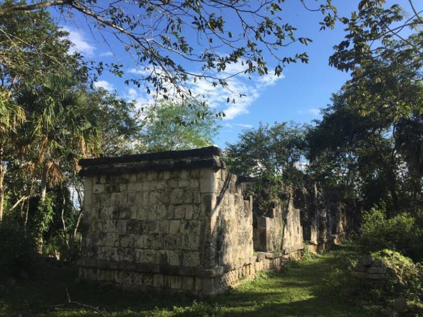 Recuperan su esplendor palacios de ciudad maya de Kulubá en sureste de México