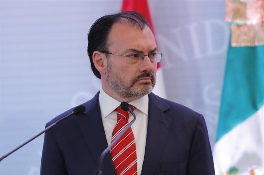 En la imagen, el secretario de Relaciones Exteriores de México, Luis Videgaray. EFE/Archivo