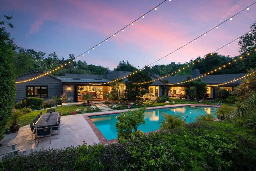David Arquette's Encino home | Hot Property