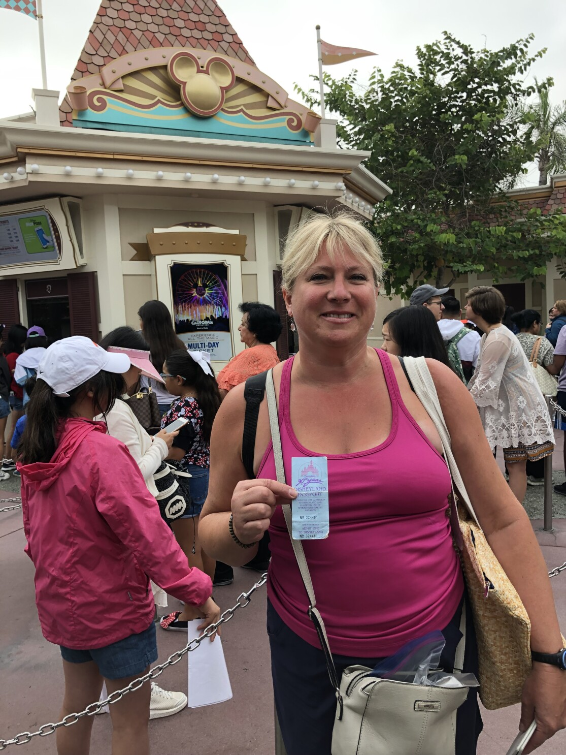 She won a free Disneyland ticket — 34 years later, the park let her use it