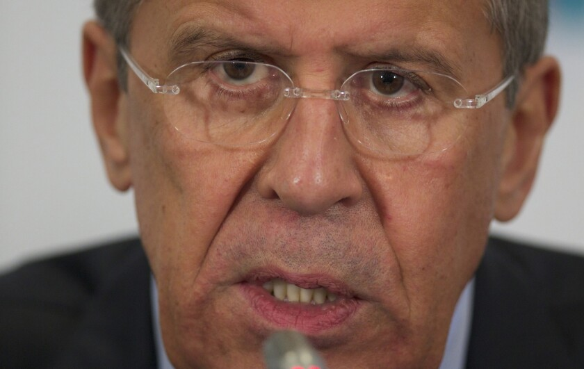 Russia warns it will 'respond' if interests in Ukraine attacked