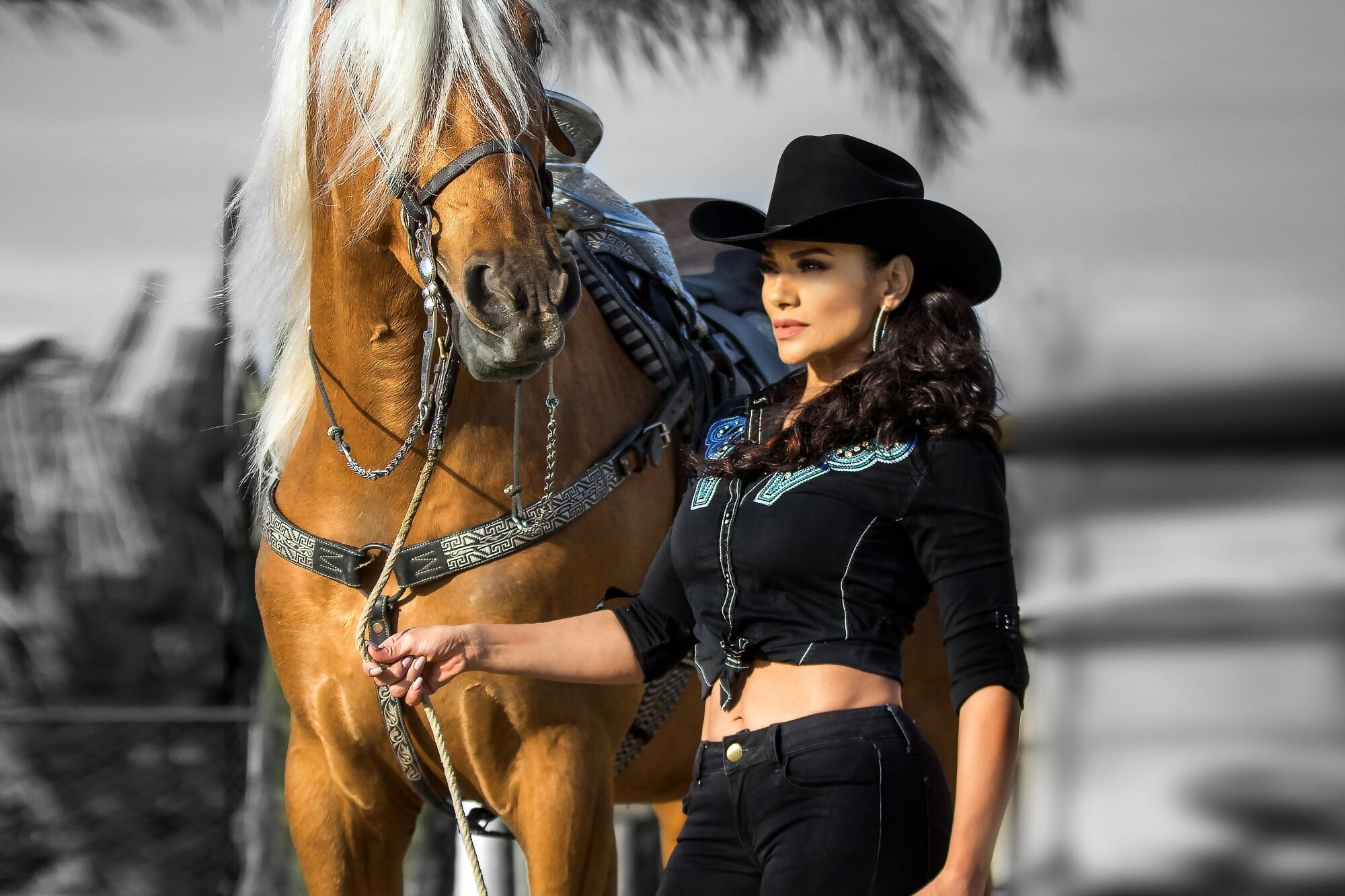 La cantante mexicana Alejandra Rojas en una imagen promocional.