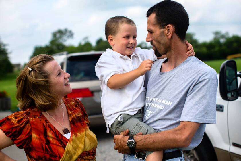 Tanya and John Loerup, with their son, Joey, chose to seek probation for the teenage boy who fatally struck their young daughter with his car.