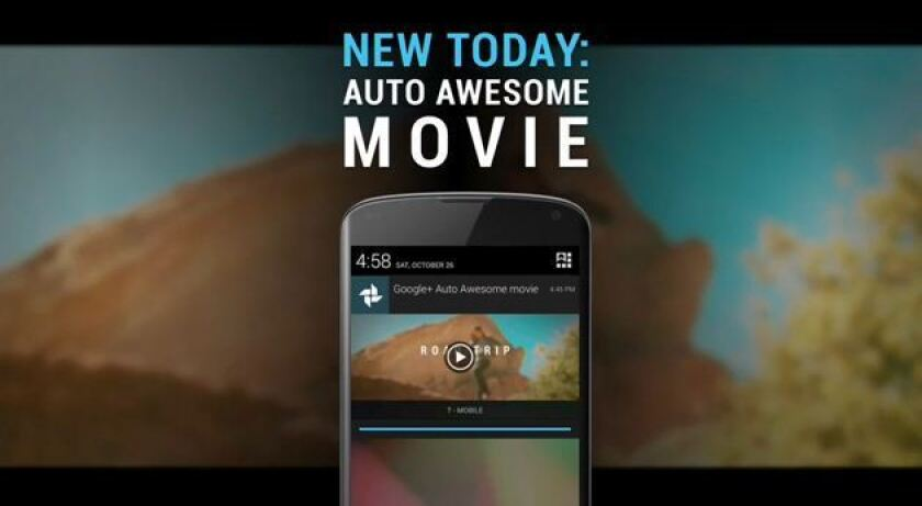 Google+'s new Auto Awesome Movie feature will make highlight clips out of users' photos and videos.