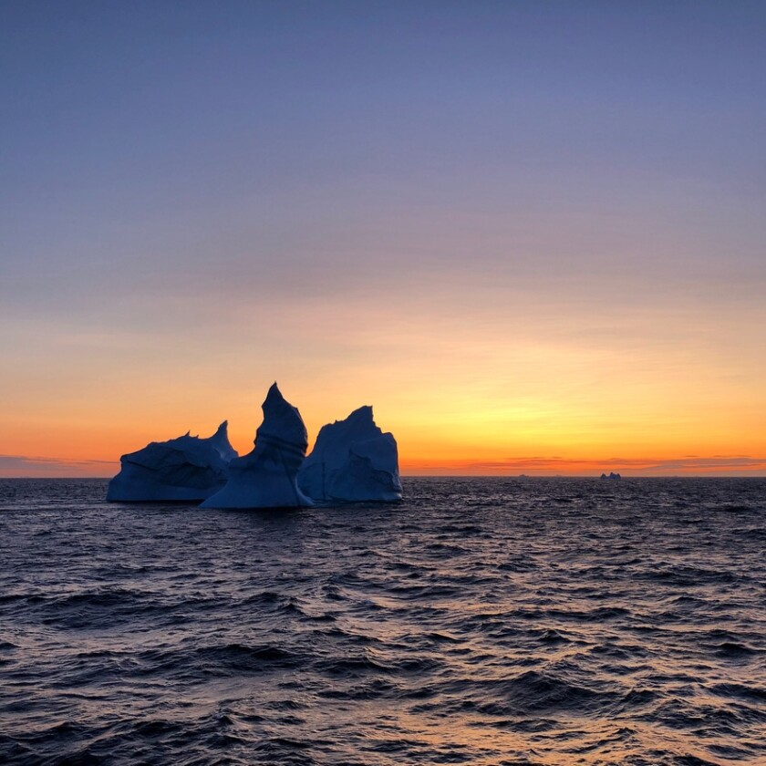 Author Maggie Shipstead's photo of Greenland