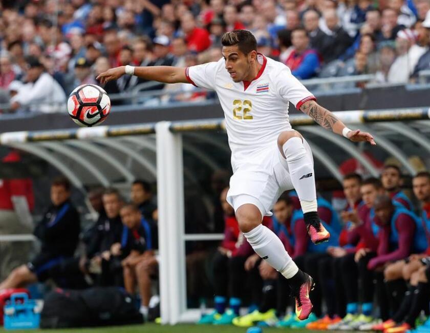 El jugador costarricense Ronald Matarrita. EFE/Archivo