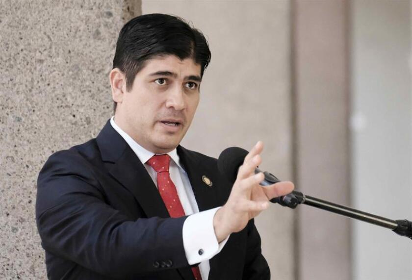 El Departamento de Estado puso hoy a Costa Rica como modelo democrático para la región durante la primera visita a Washington del nuevo presidente tico, Carlos Alvarado. EFE/ARCHIVO