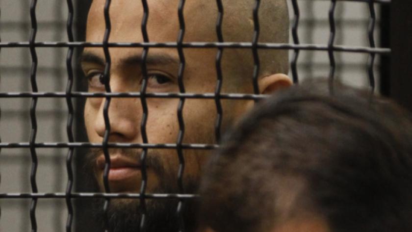 """Itzcoatl """"Izzy"""" Ocampo en su comparecencia en el 2012. Ocampo se suicidó en una cárcel de Orange County."""