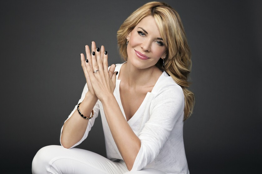 """McKenzie Westmore in the season premiere of """"Face Off"""" on Syfy."""
