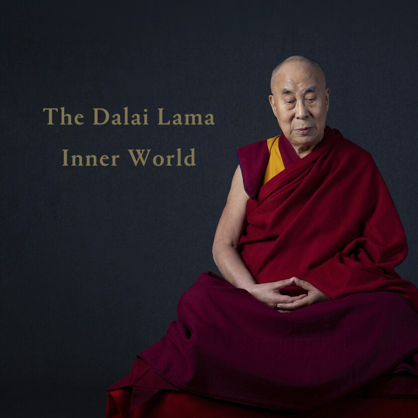"""This cover image released by Hitco Entertainment and Khandro Music shows """"Inner World,"""" the first album by The Dalai Lama. The release features teachings and mantras by the Tibetan spiritual leader set to music. (Hitco Entertainment and Khandro Music via AP)"""