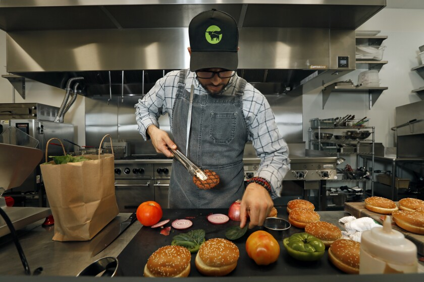 Beyond Meat executive chef Chris Sanchez