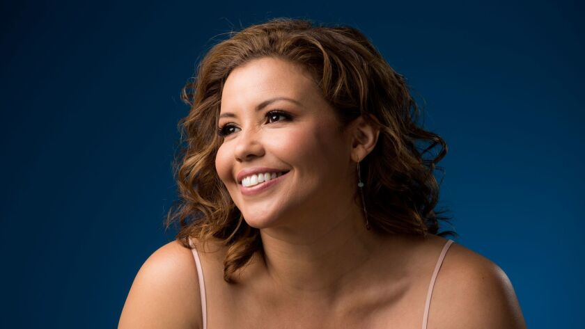 "LOS ANGELES, CA - MAY 09, 2017 - Actress Justina Machado from the Netflix's ""One Day at a Time,"" ph"