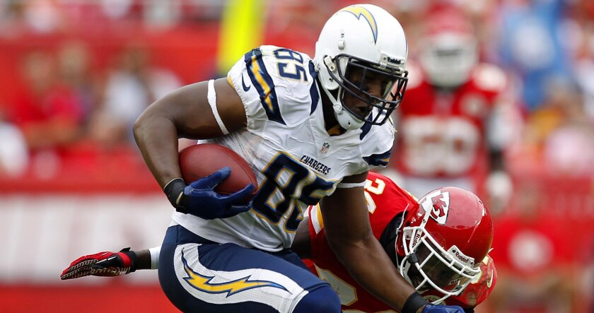 Chargers tight end Antonio Gates says he's facing a little more 1-on-1 coverage than in years past.