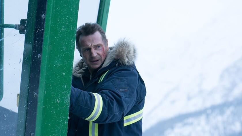 "Liam Neeson in ""Cold Pursuit."""