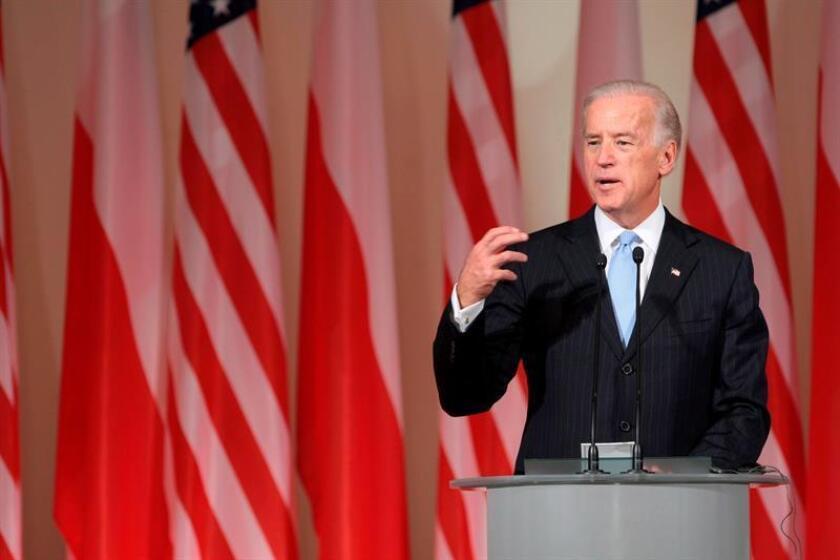 El vicepresidente de Estados Unidos, Joe Biden durante una rueda de prensa. EFE/Archivo