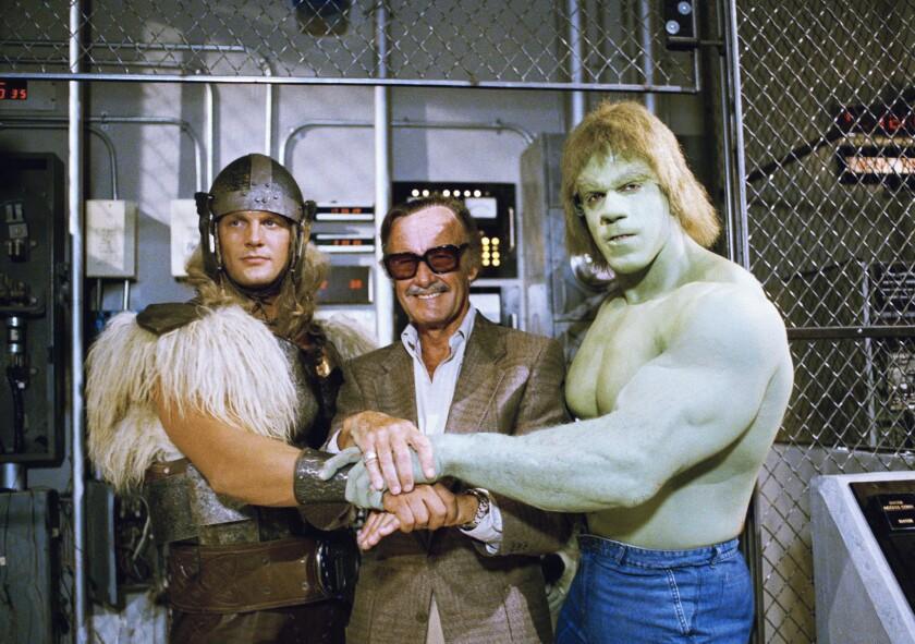 Stan Lee, Lou Ferrigno, Eric Kramer