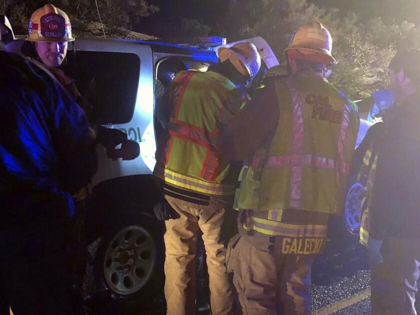 APphoto_Fatal Rollover Crash-California