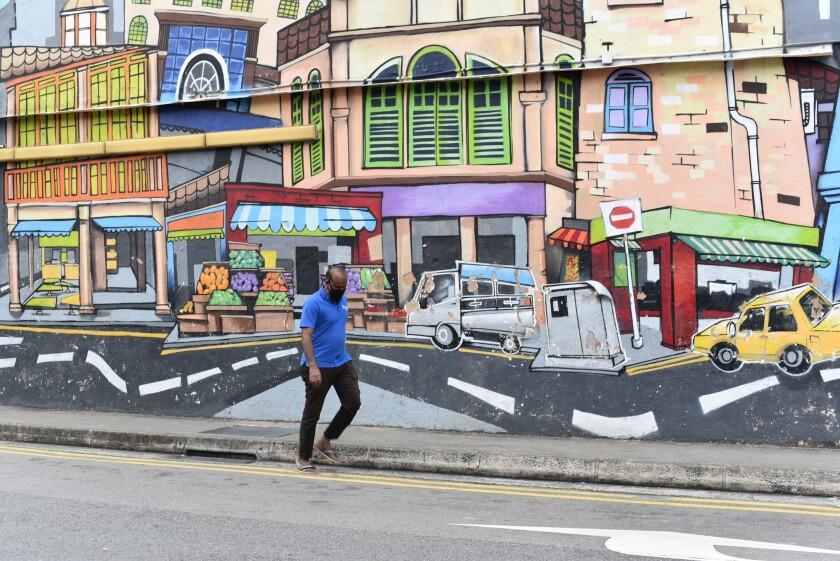 Singapore's Little India district