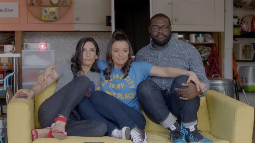 Danielle Uhlarik, Maribeth Monroe and Sam Richardson appear in <i>Bootstrapped</i> by Danielle Uhlar