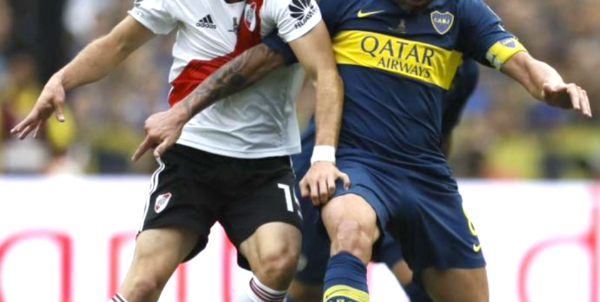 River vs Boca... choque en Madrid.
