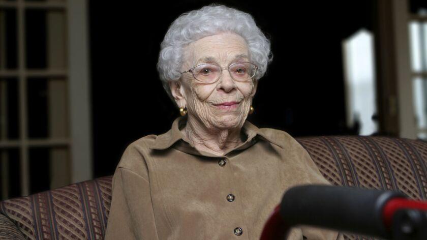 Senior Woman at an Assisted Living Facility