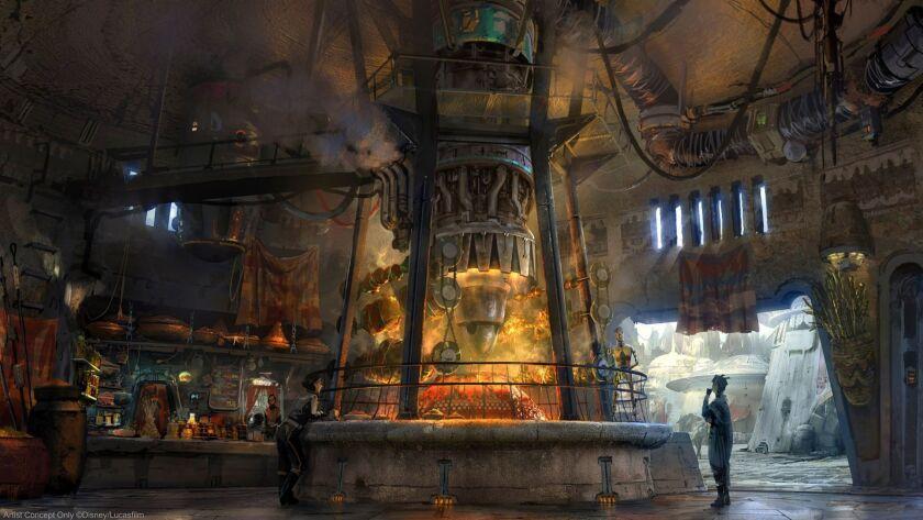 Star Wars: GalaxyÕs Edge Ð Ronto Roasters