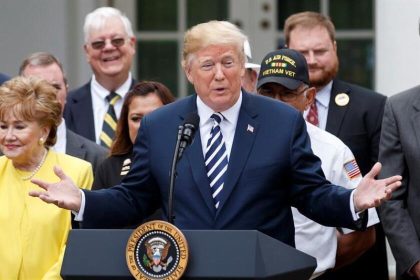El presidente de EE. UU, Donald Trump. EFE/Archivo