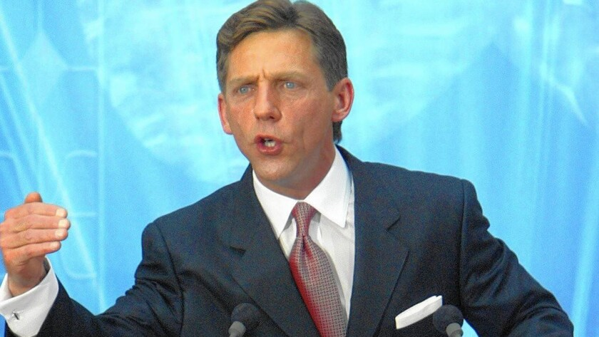David Miscavige became head of the Church of Scientology in 1986.