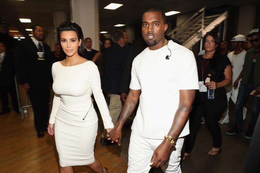 Kim Kardashian, Kanye West held up by TSA leaving JFK