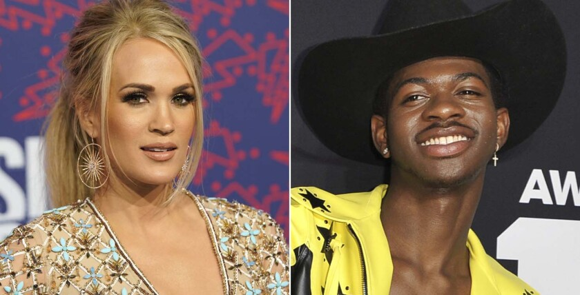 Carrie Underwood and Lil Nas X